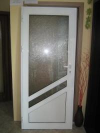 Остъклена алуминиева врата
