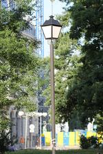 Осветление улично от ковано желязо по поръчка