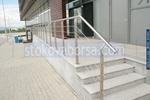 изработка на метален парапет за стълбище