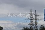 електрически стълбове за далекопроводи