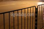 стоманени тротоарни огради