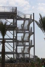изграждане на външни метални стълбища по поръчка