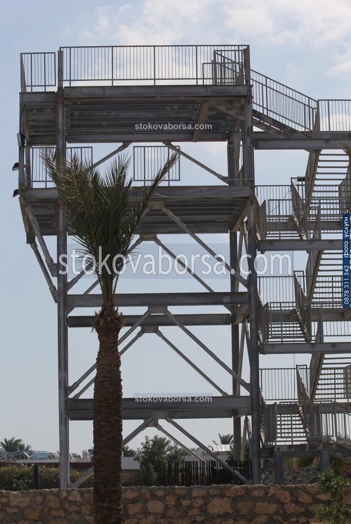 външни метални стълбища по поръчка