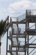 изработка на външно метално стълбище