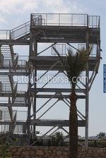 външни метални стълбища