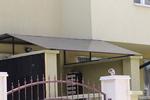 метални навеси за жилищен вход