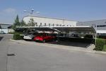 производство на метален навес за много автомобили