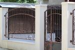 изработка на решетъчна кована ограда по поръчка
