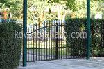 двукрила порта от ковано желязо по поръчка
