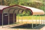 Проектиране и изработка на малък железен навес фирма