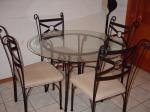 Градинска маса произведена от ковано желязо София