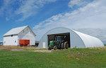 Изработка на стоманени селскостопански халета
