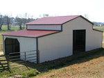 Изграждане на стоманени селскостопански халета
