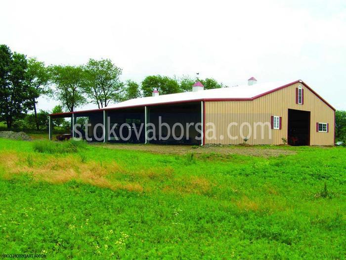 Изграждане на селскостопански халета