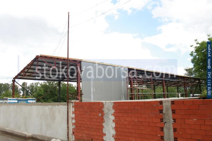 Изработка на метални селскостопански халета