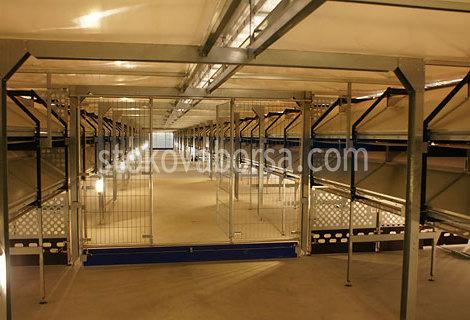 метално хале за птицеферма