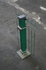 колове от метал за метални пана