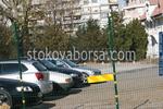 метална ограда за паркинг от заварени мрежи