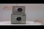 Електронен сейф с различни видове затваряне